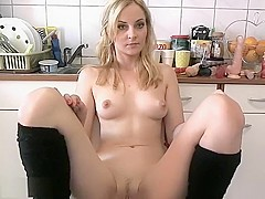 Delicious Blonde Plays With Her Toy