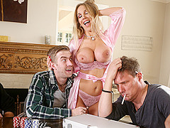 Rebecca More & Danny D in Poker Face - BrazzersNetwork
