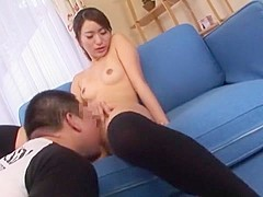 Amazing Japanese chick Rika Meria in Incredible Cunnilingus, Stockings JAV movie