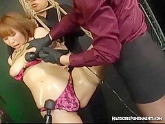 BDSM Asian Action With Bondage