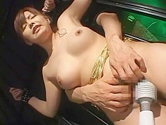 Exotic Japanese chick Rio Kurusu in Best Dildos/Toys, Close-up JAV clip