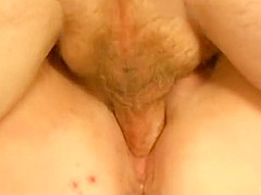 Best private shaved pussy, white guy, closeup porn scene