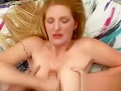 Mature tits creamed