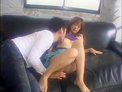 Fabulous Japanese whore Koko Mimori in Amazing Couple, Cunnilingus JAV movie
