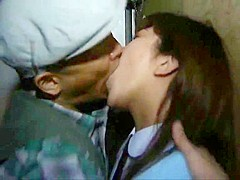 Tongue deep kissing wet How to