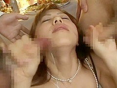 Amazing Japanese chick in Incredible Cumshot, MILF JAV scene