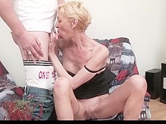skinny short hair mature 1