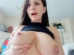 Sucking nipples woman her own Sucking own