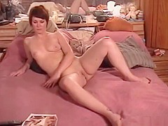 Short hair girl fucked by old man