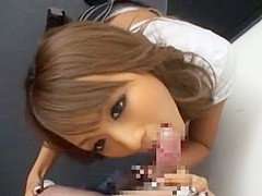Best Japanese slut Rio Sakura in Incredible POV, Blowjob JAV movie