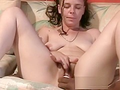 Amateur with big boobs fucked and facial wih the driver