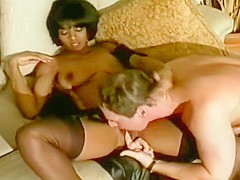 Vintage ebony MILF