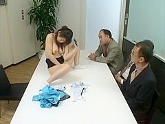 Crazy Japanese chick in Best Teens, Office JAV scene
