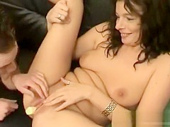 Dutch Mom Goes Crazy Over Son Cock