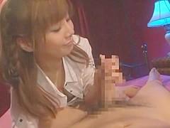 Fabulous Japanese model Karen Natsuhara in Crazy Facial JAV video