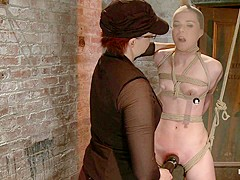 AnnaBelle Lee in Annabelle Lee - Red Headed Slut - Live Show Part 3 - HogTied