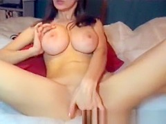 Brunette Teen With Huge Breasts Webcam Show