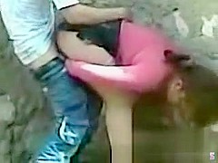 Teen Public Doggystyle Quickie