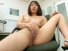 Amazing Japanese whore in Incredible HD, Office JAV clip