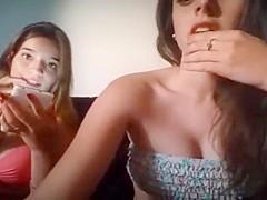 two girls in bikini on periscope