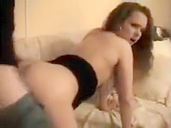 Brunette Babe Gives Atm Blowjob And Facial