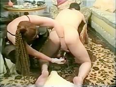 Vintage dominatrix fuck