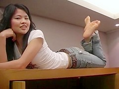 Cherry Asian Feet-Daisy 3