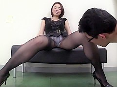 Crazy Japanese whore in Fabulous Handjob, Fetish JAV scene