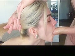 Exotic amateur pussy licking, blowjob, stockings xxx video