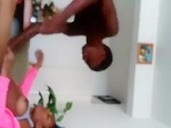Young Ebony Gets Fucked By Darkskin Bestfriend *must watch*