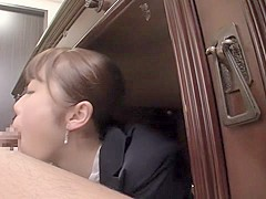 Fabulous Japanese chick in Amazing HD, Blowjob JAV scene