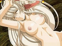 Hard fuck with asian girl big hairy pussy in hentai game