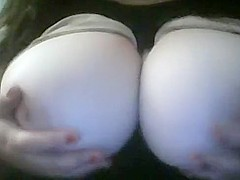 BigTits4BigCock Big Natural Titty Drop with Red Nails for rockhopper52