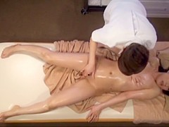 Crazy Japanese chick in Best Lesbian, Massage JAV video