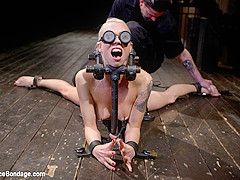 Lorelei Lee in Lorelei Lee returns to Device Bondage to test her limits of pain and pleasure! - Devi