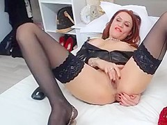 Sexy Red-haired Chick Is Desperate To Show Off Her Hot Puss