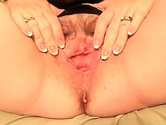 Spreading And Rubbing My Pussy With Alittle Help