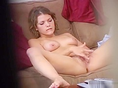Incredible homemade cowgirl, solo, busty xxx scene