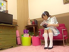 Crazy Japanese whore in Incredible HD, Cosplay JAV movie