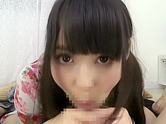 Incredible Japanese model in Hottest HD, Blowjob JAV movie