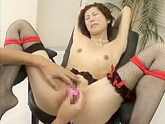 Incredible Japanese chick in Hottest Stockings, Skinny JAV video
