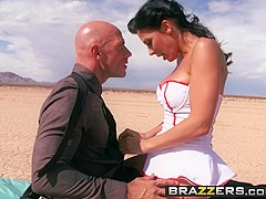 Brazzers - Doctors Adventure - Rachel Starr Johnny Sins - Cumshot At the End of the Tunnel