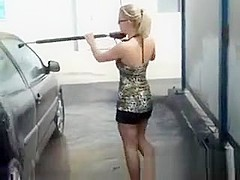 Slut Fucked And Creampied On A Car
