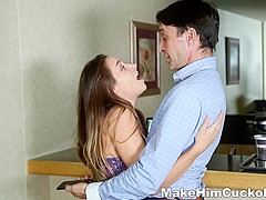 Make Him Cuckold - Cassidy Klein - Hard fucking cuckold payback