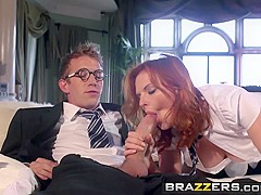Brazzers - Big Tits at School - Tarra White Danny D - Hairy Punter and His Enormous Boner