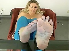 JOI MILF Feet & Soles In Your Face
