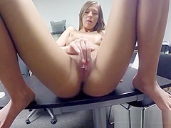 Hoe Molly Manson Sucks And Fucks Stud For A Job