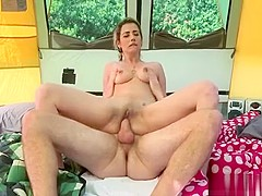 Hot Piece Of Older Ass Gets Down To Business With A Stud