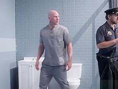 Johnny Sins gives Lily Lane her daily dose of sex in prison