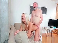 Hot Teen And A Wealthy, Elderly Man Are Fucking Like Avid